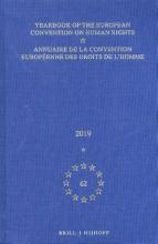 , Yearbook of the European Convention on Human Rights Annuaire de la convention européenne des droits de l`homme, Volume 62 (2019)