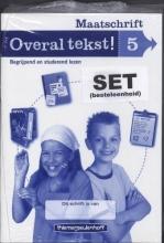 Drie redactie & communicatie Overal tekst! Maatschrift gr 5 (set a 5)
