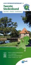 ANWB , Fietsknooppuntenkaart Twente Stedenband 1:100.000
