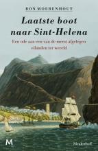Ron  Moerenhout Laatste boot naar Sint-Helena