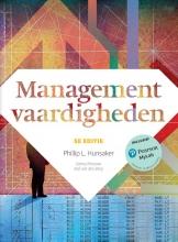 Phillip L. Hunsaker , Managementvaardigheden met MyLab NL toegangscode