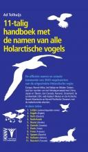 Ad  Tolhuijs 11-talig Handboek met de namen van alle Holarctische vogels
