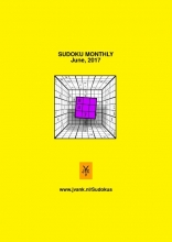 Herman  Adèr Sudoku monthly (June, 2017)