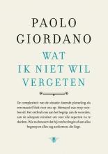 Paolo Giordano , Wat ik niet wil vergeten