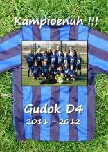 Kees  Lintermans Gudok D4 2011-2012 KAMPIOENUH!!!