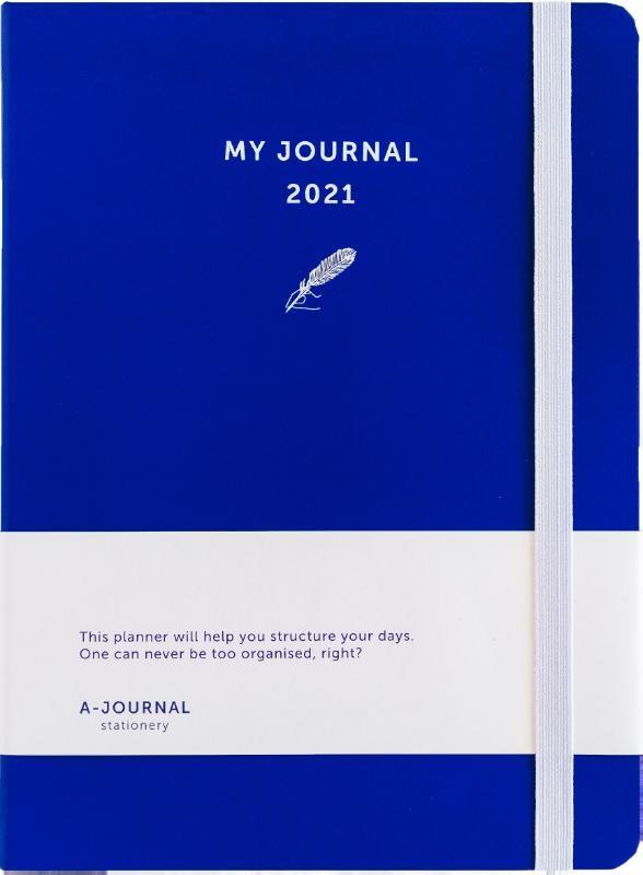 ,My Journal Agenda 2021 - Indigo Blauw