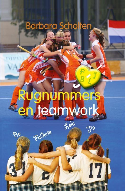 Barbara  Scholten,Rugnummers en teamwork
