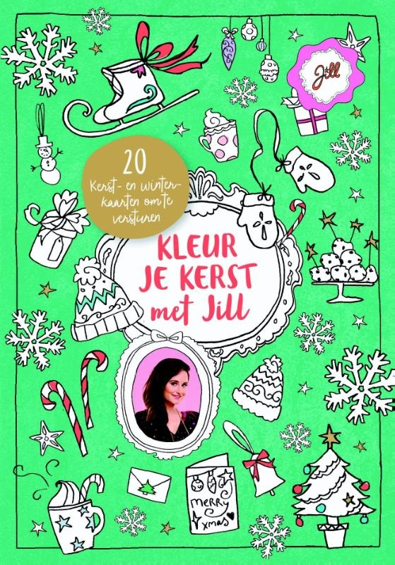 Jill Schirnhofer,Kleur je kerst met Jill