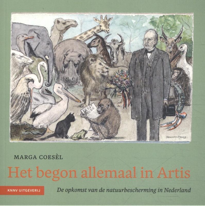 Marga Coesèl,Het begon allemaal in Artis