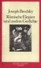 Brodsky, Joseph,Römische Elegien und andere Gedichte