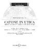 ,Catone in Utica. Textbuch/Libretto