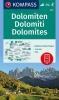 ,<b>Dolomiten - Dolomites - Dolomiti 1 : 35 000</b>