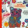 ,Glitter kleurplaten boek - Happiness