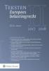 ,Teksten Europees belastingrecht  2017/2018