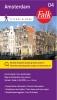 ,Falk city map & more 04 Amsterdam 2016-2018, 3e druk. Toeristische centrumkaart met tramlijnen.