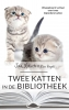 <b>Jan  Louch</b>,Twee katten in de bibliotheek
