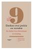 <b>Désirée  Schyns, Philippe  Noble</b>,Denken over po�zie en vertalen