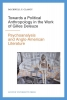 <b>Rockwell F  Clancy</b>,Towards a political anthropology in the work of gilles deleuze
