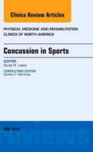 Laker, Scott Concussion in Sports, an Issue of Physical Medicine and Reha