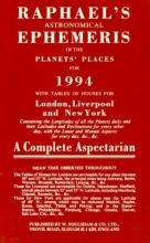 Foulsham Books Raphael`s Astronomical Ephemeris of the Planets` Places