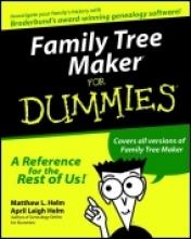 Helm, Matthew L. Family Tree Maker For Dummies