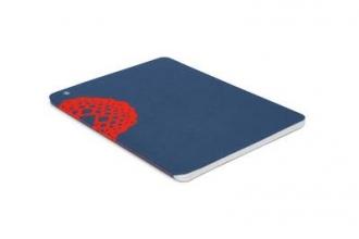 Plumb Notebooks Red on Blue Wraparound