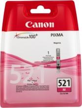 , Inktcartridge Canon CLI-521 rood