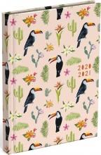 , Schoolagenda 2020-2021 lannoo good vibes toucan 125x175mm