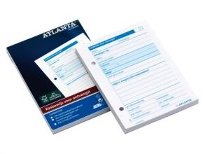 , Kasbewijs Atlanta ontvangst A6 100vel