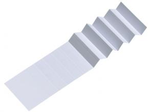 , Ruiterstrook voor Alzicht hangmappen 65mm wit