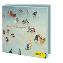 Wmc924 , Kerstkaart mapje 10 stuks met env  amnesty int  charlotte dematons winter