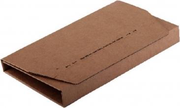 , Wikkelverpakking CleverPack A5 +zelfkl strip bruin 25stuks