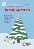 Vicky Bo, Vicky Bo`s zauberhaftes Mitmachbuch & Malbuch - Weihnachten. Ab 3 bis 7 Jahre