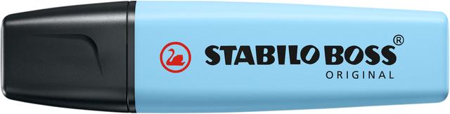 ,Markeerstift STABILO Boss Original 70/112 pastel luchtig blauw