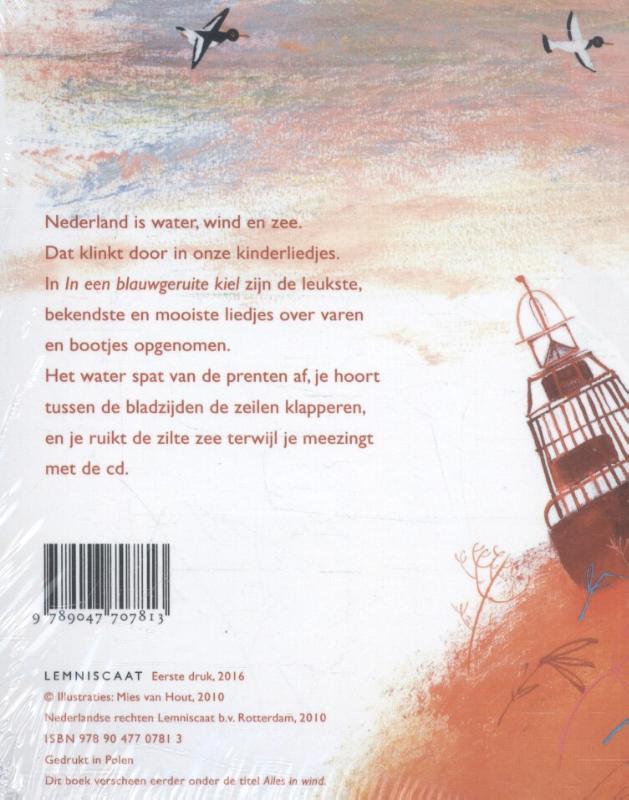 Mies van Hout,In een blauwgeruite kiel