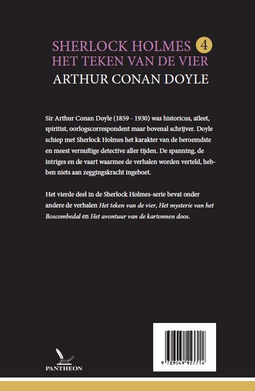 Arthur Conan Doyle,Het teken van de vier
