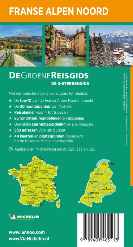 ,De Groene Reisgids - Franse Alpen Noord