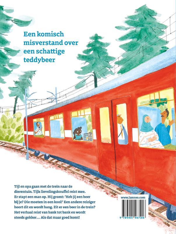 Tom Wouters,Er zit een beer in de trein