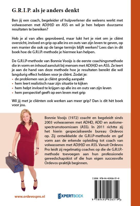 Bonnie Vooijs,G.R.I.P. als je anders denkt