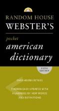 Random House Random House Webster's American Dictionary