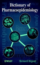 Bégaud, Bernard Dictionary of Pharmacoepidemiology