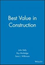 Kelly, John Best Value in Construction