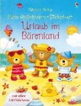 Brooks, Felicity,   Jatkowska, Ag Brooks, F: Mein Anziehbären-Stickerbuch: Urlaub im Bärenland