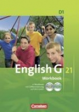 English G 21. Ausgabe D 1. Workbook mit CD-ROM (e-Workbook) und Audio Online