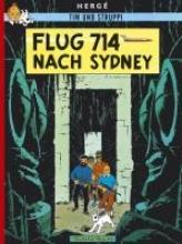 Herge Tim und Struppi 21. Flug 714 nach Sydney