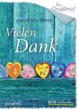 Steeb, Angelika Ein Grubrief - Vielen Dank! - 5 Stck