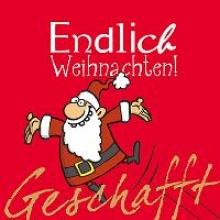 Kernbach, Michael Geschafft! Endlich Weihnachten!