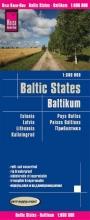 , Reise Know-How Landkarte Baltikum 1 : 600.000 : Estland, Lettland, Litauen und Region Kaliningrad