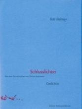 Halmay, Petr Schlusslichter