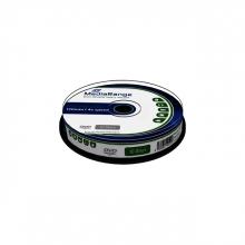, DVD-RW MediaRange 4.7GB|120min 4x speed, 10 stuks